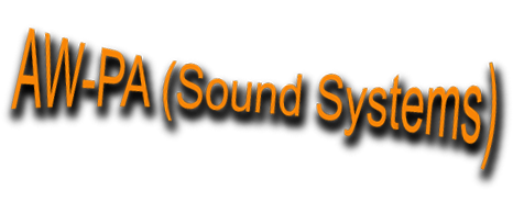 AW-PA Sound System Hire